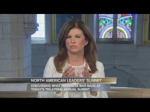 2016 North American Leaders' Summit - Interview with Rona Ambrose