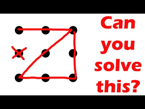 Can You Solve This Puzzle? Nine Dots, Four Lines Challenge