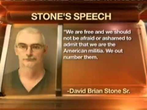 Radical words of an unorganized American Militia member