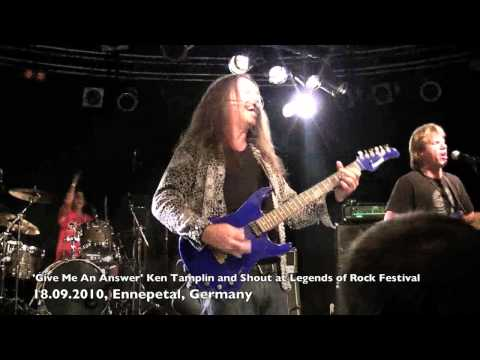 KEN TAMPLIN - SHOUT - GIVE ME AN ANSWER LIVE - LEGENDS OF ROCK FEST 2010.mov