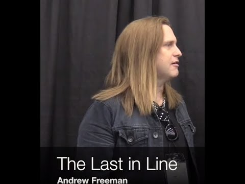 LAST IN LINE recording new album, Andrew Freeman interview posted!