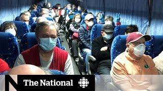 American cruise ship evacuees test positive for coronavirus