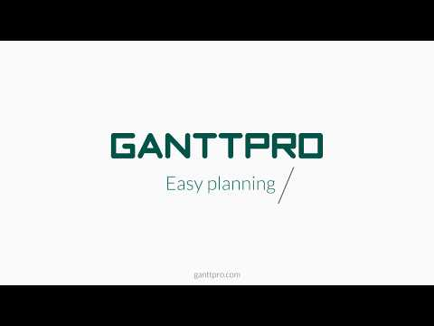 Online project management software - GanttPRO (2018)