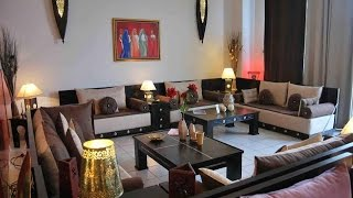 Salon Marocain Traditionnel de Luxe