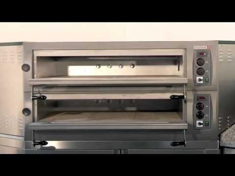 four pizza lectrique professionnel en angle youtube. Black Bedroom Furniture Sets. Home Design Ideas