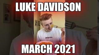 Luke Davidson TIKTOK   TOP March 2021