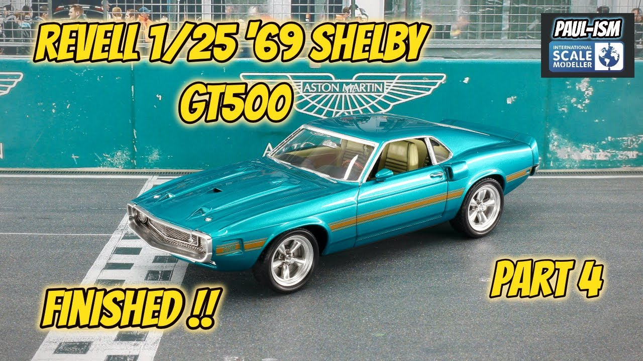 Finished Part 4 - Revell 1/25 '69 Shelby GT-500 Video build