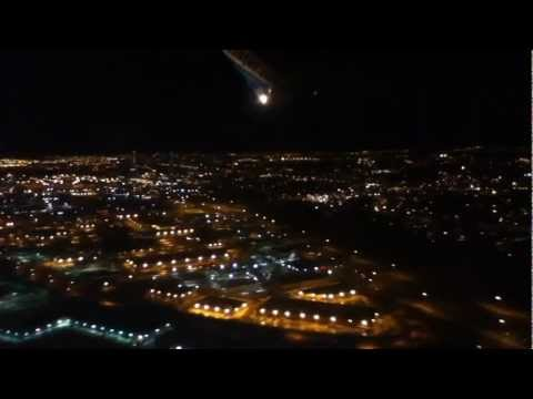 Takeoff at Calgary Airport (YYC) on WestJet 737
