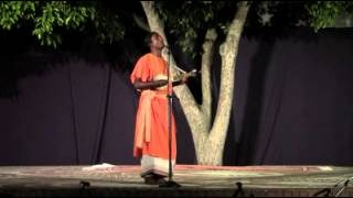 Sri Laxman Das (Baul) Ashram School Courtyard Pondicherry - Raaga Tapasya Sacred Music Festival 2013