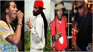 Gyptian Ft. Munga, Supa Hype & Chi Ching - Slap Wey [Money Box Riddim] June 2012
