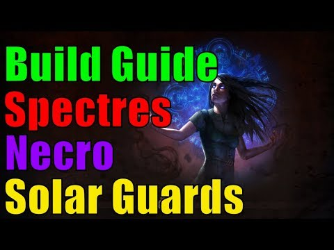 [3.2 HC] Spectres Necromancer (Solar Guards) - Build Guide - Map / Boss - Path of Exile Abyss german
