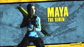 Borderlands 2 - Siren Maya Speech and Sounds (Quotes)