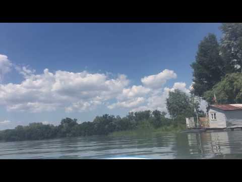 Supboarding Samara river