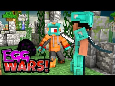 CRAZY UNDER GEARED KILL! | Minecraft Egg Wars w/ MicroGuardian!