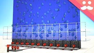 USING NEW WATER MECHANICS with Redstone! [SNAPSHOT!]