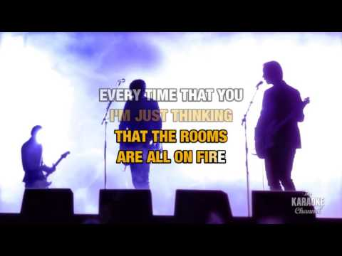 Rooms On Fire in the style of Stevie Nicks | Karaoke with Lyrics