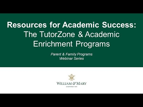 Resources for Academic Success