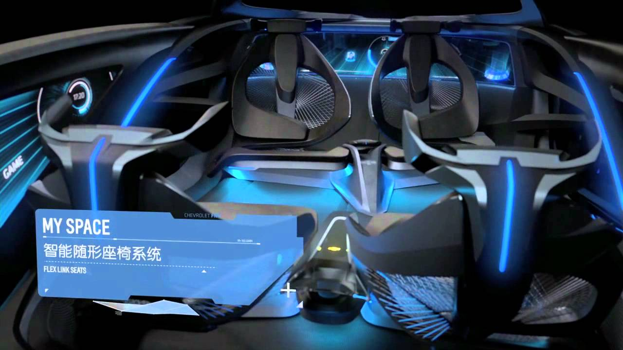 Chevrolet Fnr Concept Shanghai 2015 Youtube