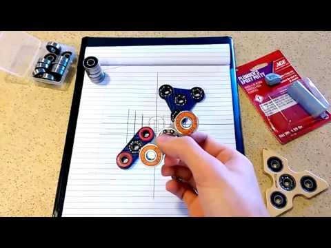 DIY Putty Fidget Spinner Tutorial