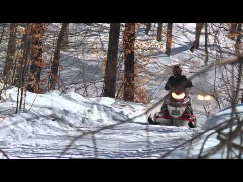 Touring the Quebec Snowmobile Regions of Lanaudiere and Mauricie