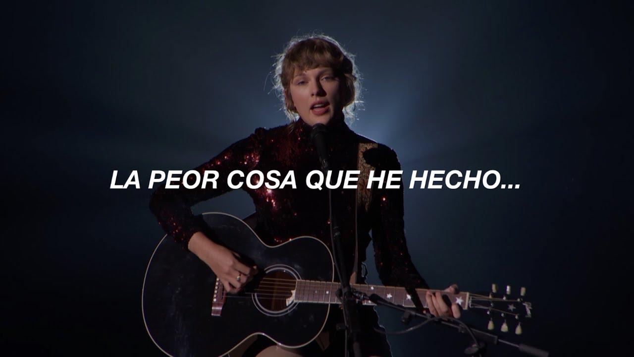 [ Taylor Swift ] - betty (Live 2020 ACMA) // Español