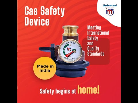 Difference between Chinese and made in India product UNIVERSAL GAS SAFETY DEVICE
