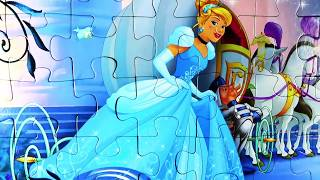 Пазлы для Детей - Золушка. Puzzles for Children - Cinderella.