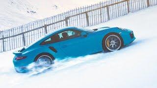 Porsche 911 Turbo S King of the Hill смотреть
