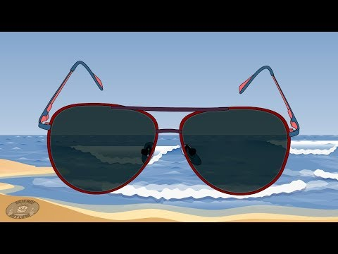 bcdec45f4462 How Do Polarized Sunglasses Work?! - YouTube