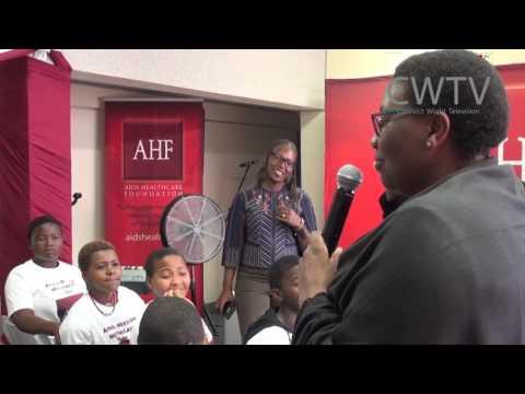 AHF Delegation   S A Durban