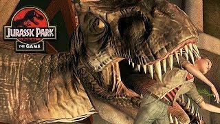 Jurassic Park The Game Gameplay German #03 - Er will uns fressen