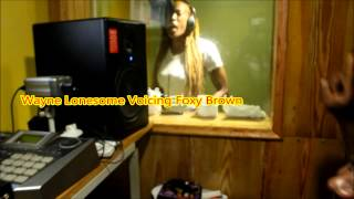 Foxy brown voicing Sorry Dubplate for Redd Heat Sound.