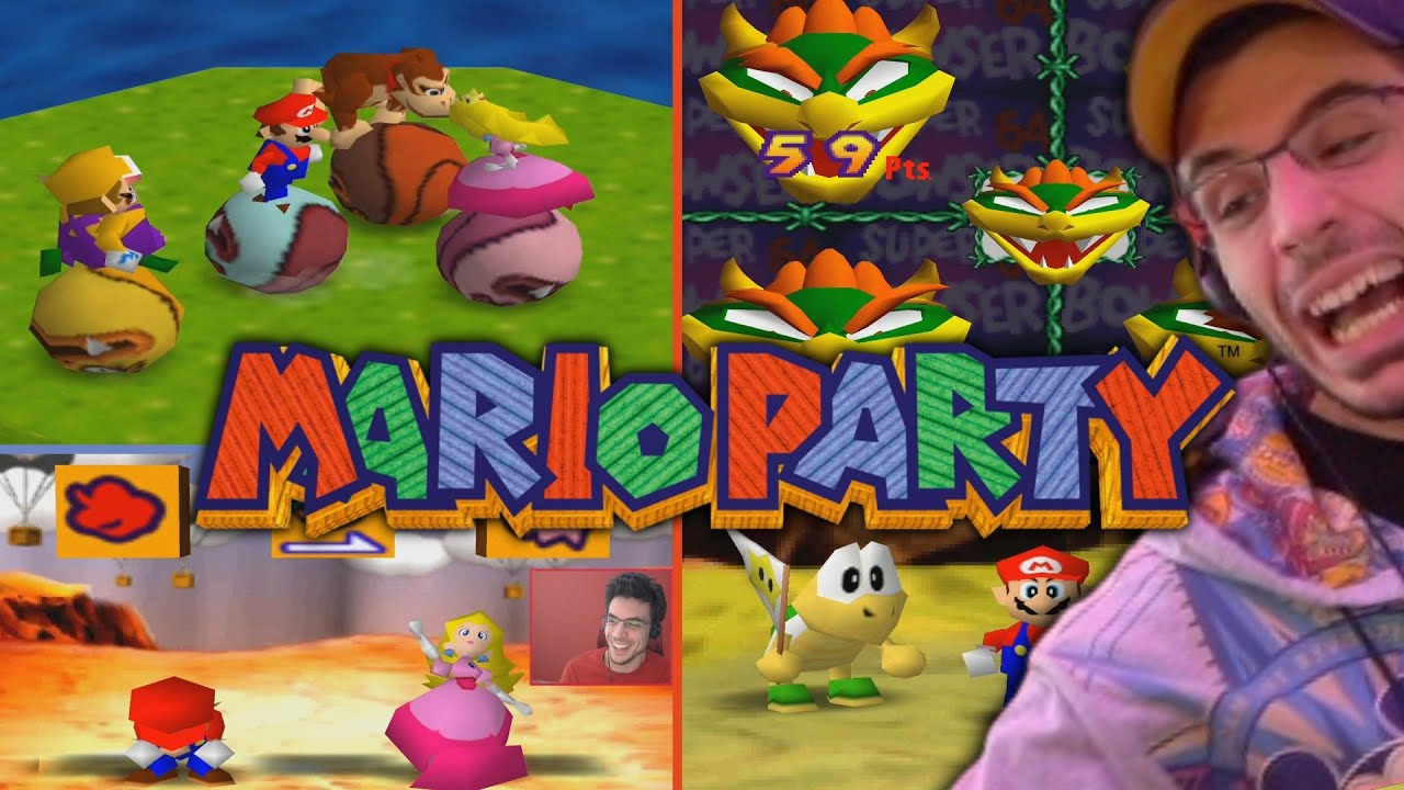 SHE'S TAKING ALL OF MY MONEY!   Mario Party Tournament (Mario Party 1 w/ Chilled, Ze, Ray, & Platy)