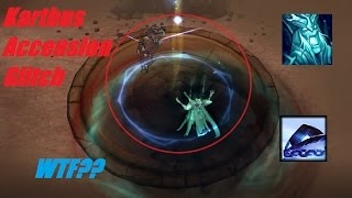 League Of Legends - Super cool karthus trick in accension (Not a bug)