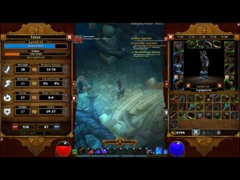 Torchlight 2 gameplay with commentary (part #3)