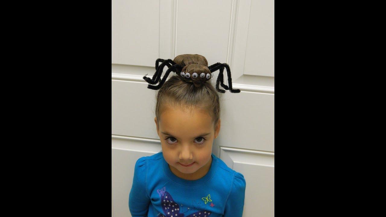 The best Halloween hairstyle ever!! / Bonita Hair Do - YouTube