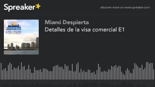 detalles de la visa comercial e1
