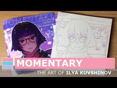 momentary,-the-art-of-ilya-kuvshinov---book-review