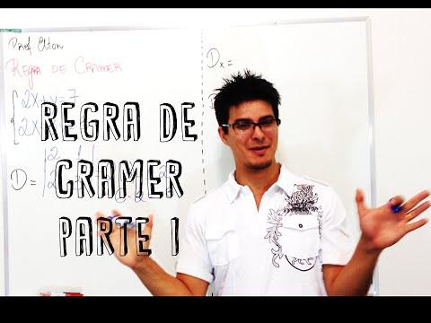 Regra de Cramer - Aula 01