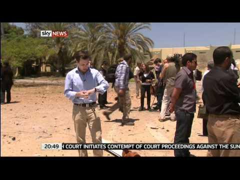 Tripoli Report Sky News