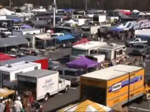 Raceway Park Englishtown Spring Swap Meet