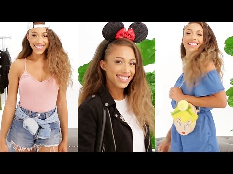 3 Disneyland Outfits With Jaleesa Moses | What to Wear | Disney Style