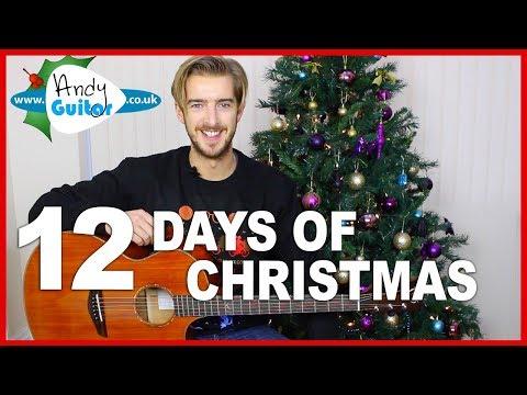 Christmas Song #5 - 12 Days Of Christmas on Guitar!