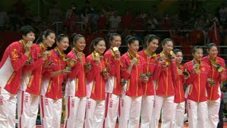 Never Give-it-up Spirit Hails China to Olympic Women's Volleyball Gold Medal Once Again
