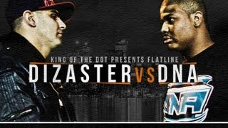 Gambar cover KOTD - Rap Battle - Dizaster vs DNA *Co-Hosted by DRAKE*
