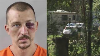 Florida man suspected of killing, burying girlfriend turned in by his mom