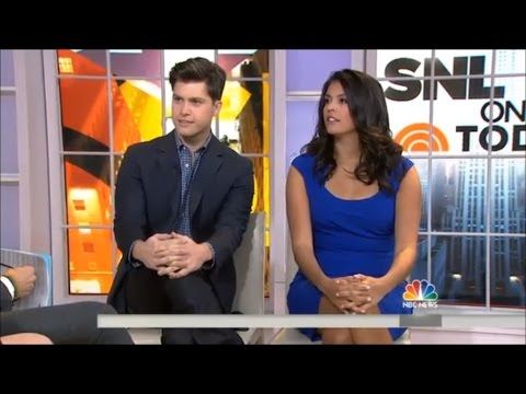 Colin Jost & Cecily Strong - The Today Show Interview (2014)
