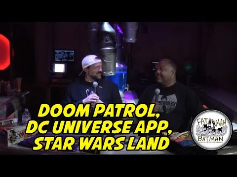 Doom Patrol, DC Universe App, Star Wars Land