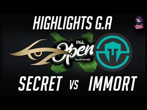 Secret vs Immortals PGL Open Bucharest Minor Group A Highlights Dota 2 by Time 2 Dota #dota2