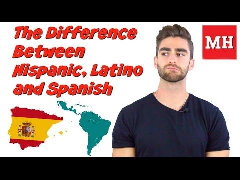The Difference between Hispanic, Latino and Spanish